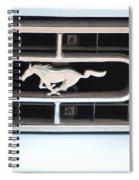 Mustang Logo Spiral Notebook