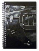 Mustang Rear Spiral Notebook