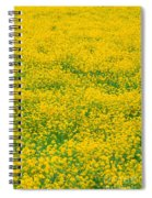 Mustard Flowers Spiral Notebook