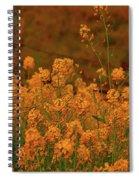 Mustard Garden Spiral Notebook