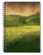Mustard Grass Spiral Notebook