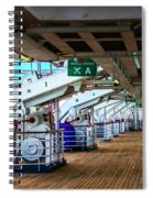 Muster Station A Spiral Notebook