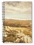 Muted Mountain Views Spiral Notebook