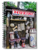 Muziki Spiral Notebook