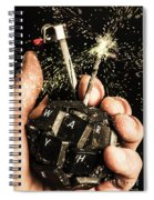 My 1000 Pieces Salute Spiral Notebook