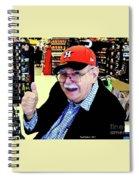 My Astros Cap Spiral Notebook