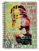 My Baby Just  Spiral Notebook