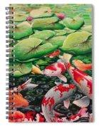 My Backyard Pond Spiral Notebook