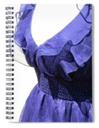 My Blue Dress Spiral Notebook