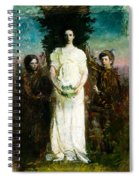 My Children Mary Gerald And Gladys Thayer Spiral Notebook