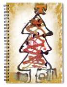 My Christmas Tree Spiral Notebook