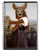 My Deer Shepherdess Spiral Notebook