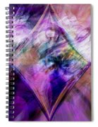 My Diamond Spiral Notebook