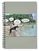 My Dog Tiny Spiral Notebook