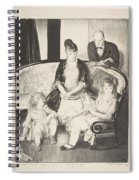 My Family, Second Stone George Bellows  Spiral Notebook