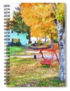 My Favorite Time Of Year Spiral Notebook