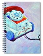 My First Eye Phone  Spiral Notebook