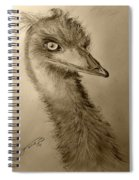 My Friend Emu Spiral Notebook