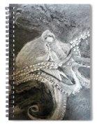 My Friend The Octopus Spiral Notebook
