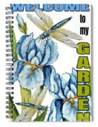 My Garden-jp2829 Spiral Notebook