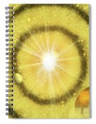 My Golden Universe Spiral Notebook