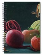 My Harvest Vegetables Spiral Notebook