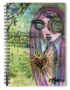 My Heart Sings Like This Little Bird Spiral Notebook