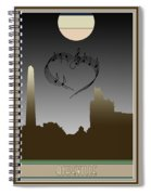 My Heart Sings Of Asheville Spiral Notebook