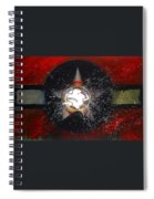 My Indian Red Spiral Notebook