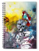 My Knight In Shining Armour Spiral Notebook