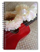 My Little Red Ukulele Spiral Notebook