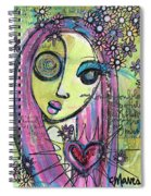 My Love For You Blooms Spiral Notebook