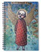 My Mind Is Cleared Of All Turmoil And Fear Spiral Notebook