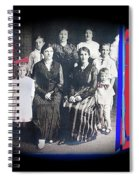 My Mother And Her Family Virginia Minnesota Circa 1919 Spiral Notebook