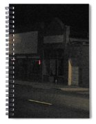 My Neighborhood At Night Spiral Notebook