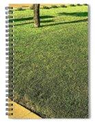 My Neighbor's Yard Spiral Notebook