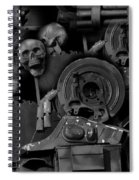 My Pains Revealed Spiral Notebook
