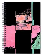 My Patio Abstract Spiral Notebook