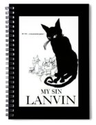 My Sin Spiral Notebook