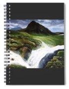 My Skogafoss Spiral Notebook