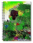 My Strange Wonderful And Somewhat Creepy Garden Spiral Notebook