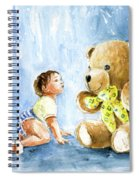 My Teddy And Me 03 Spiral Notebook