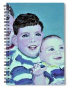 My Three Sons Spiral Notebook