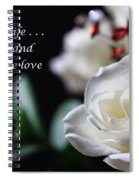 For My Wife - Expressions Of Love Spiral Notebook