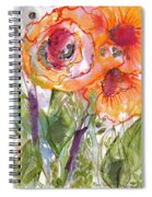 My Wild Roses Spiral Notebook