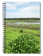 Myakka River And Marshes Spiral Notebook