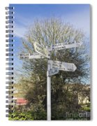 Mylor Signpost Spiral Notebook