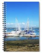 Mylor Yacht Pontoon Spiral Notebook