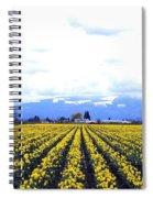 Myriads Of Daffodils Spiral Notebook