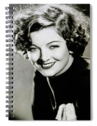 Myrna Loy Spiral Notebook